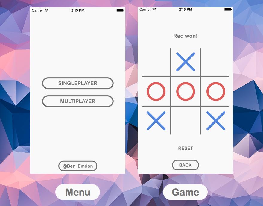 سورس پروژه بازی XO در iOS
